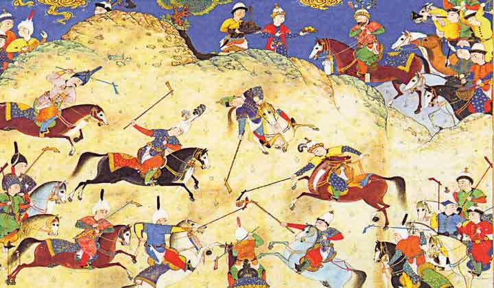 کارکردهای رزمی و تفریجی چوگان در فرهنگ ایرانی