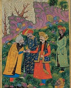 روایتی جالب از رسم و رسوم دربار محمود غزنوی