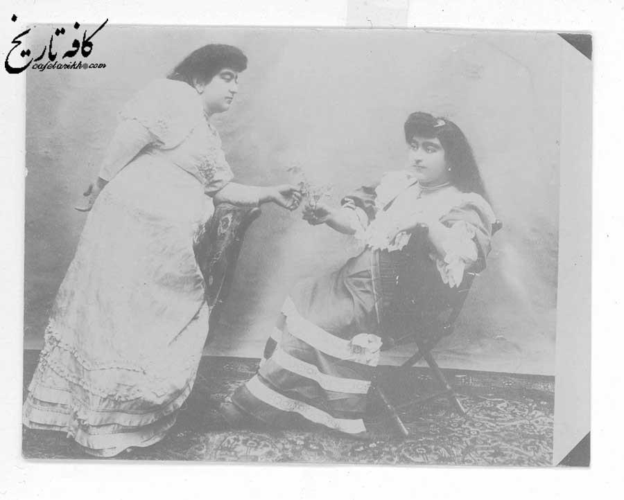 زیبایی تاج السلطنه عامل دشمنی زنان با وی
