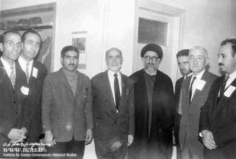 نهضت آزادی؛ انشقاق از جبهه ملی و همکاری با مرجعیت