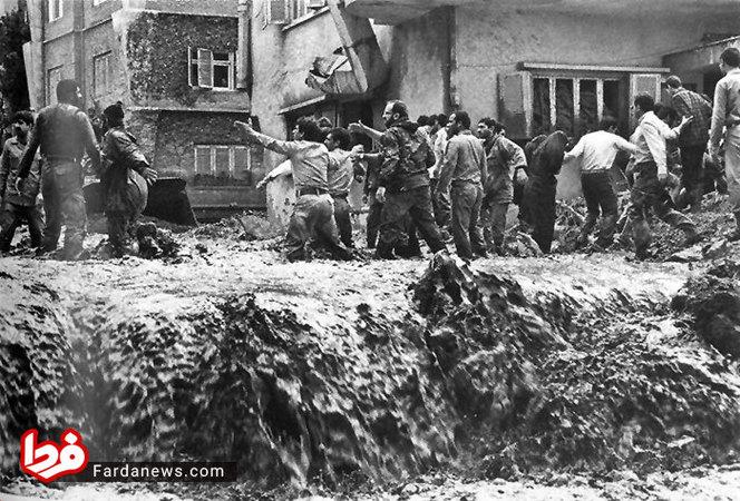 آمار سیلابهای تهران از سال 1333