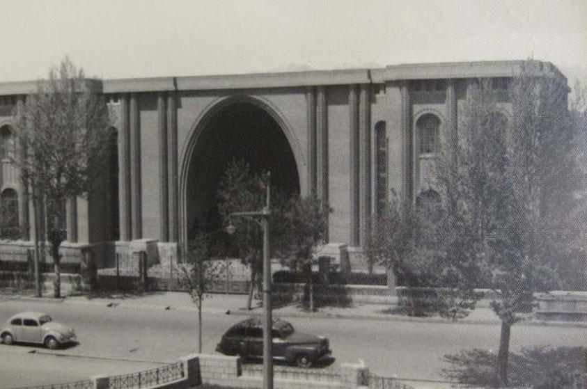 تاسیس اداره عتیقات در ایران قدیم