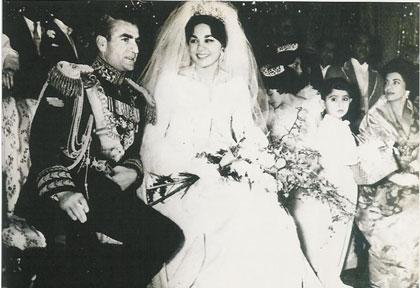 فرح و محمدرضا پهلوی در آلمان