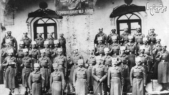 نظامیان در دوره قاجار چه لباسی می پوشیدند؟