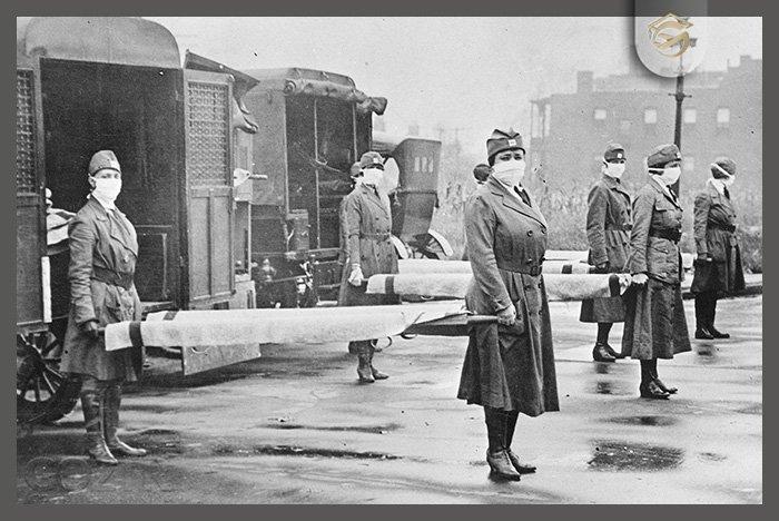 ویروس همه گیر جهانی در سال ۱۹۱۸