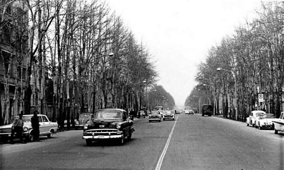 بلندترین خیابان تهران در دوران پهلوی