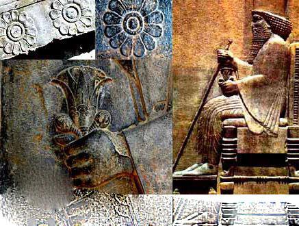 نماد گل نیلوفر بر سر در خانه های ایرانی به چه معناست؟