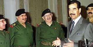 مصاحبه مطبوعاتی صدام در عراق در سال 1354